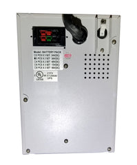 External Battery Pack For 1 KVA To 1.5 KVA Tower Systems (BBP-1000-PSW-ONL-EBP) Back Side