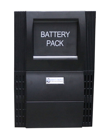 External Battery Pack For 1 KVA To 1.5 KVA Tower Systems (Black)