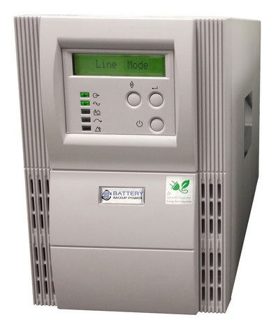 Battery Backup Uninterruptible Power Supply (UPS) And Power Conditioner For Life Technologies Countess II FL Automated Cell Counter