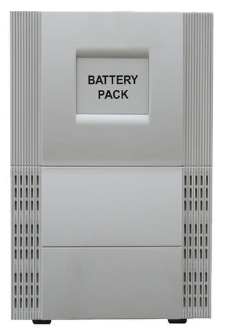 External Battery Pack For 2 KVA To 3 KVA Tower Systems (White)