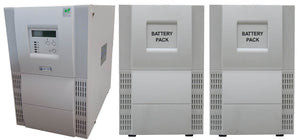 Uninterruptible Power Supply (UPS) For BD Biosciences FACSAria II With 2 External Battery Cabinets