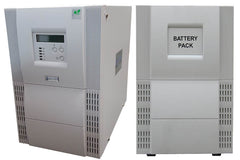 Uninterruptible Power Supply (UPS) For Applied Biosystems ViiA 7 Real-Time PCR System - Instrument, Laptop Computer, Monitor, and Twist II Robot With External Battery Cabinet