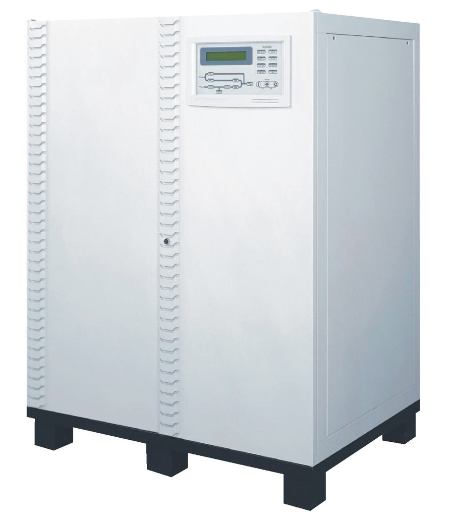 120 kVA / 96 kW 3 Phase Battery Backup UPS With Extra Battery Cabinet