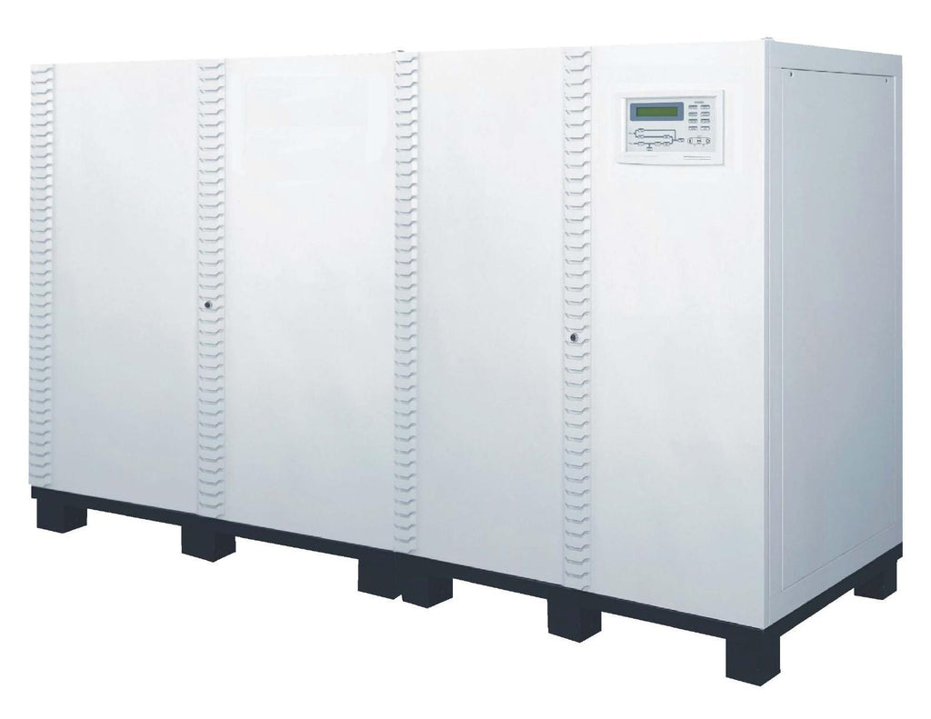 240 kVA / 192 kW 3 Phase Battery Backup UPS With 3x Extra Battery Cabinets