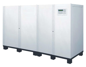 160 kVA / 128 kW 3 Phase Battery Backup UPS With 3x Extra Battery Cabinets