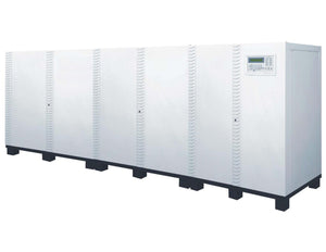 160 kVA / 128 kW 3 Phase Battery Backup UPS With 5x Extra Battery Cabinets