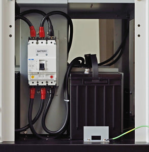External Battery Cabinet For 10 KVA To 320 KVA 3 Phase Systems