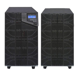 10 kVA / 10,000 Watt N+1 Digital Tower Battery Backup UPS And Power Conditioner With 1 External Battery Pack