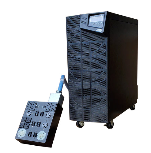 Plug And Play 10 kVA / 10,000 Watt Digital Tower Battery Backup UPS And Voltage Regulator
