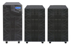 6 kVA / 6,000 Watt N+1 Digital Tower Battery Backup UPS And Power Conditioner With 2 External Battery Packs