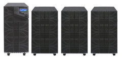 6 kVA / 6,000 Watt N+1 Digital Tower Battery Backup UPS And Power Conditioner With 3 External Battery Packs