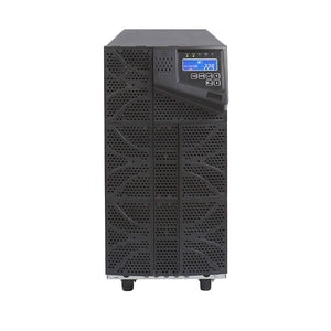 6 kVA / 6,000 Watt N+1 Digital Tower Battery Backup UPS And Power Conditioner Front Side View