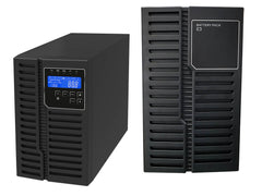 1 kVA / 900 Watt DSP Tower UPS (Uninterruptible Power Supply) And Power Conditioner For Sensitive Electronics With External Battery Pack