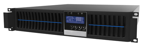 1 kVA / 900 Watt Digital Convertible Rack Mount/Tower Battery Backup UPS And Power Conditioner For Sensitive Electronics
