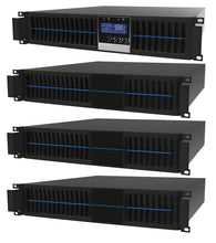Load image into Gallery viewer, 1.5 kVA / 1,350 Watt Convertible Rack Mount/Slim Tower Power Conditioner, Voltage Regulator, & Battery Backup UPS