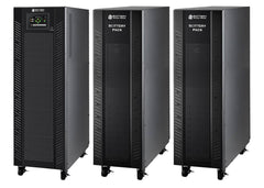 10 kVA / 10 kW Advanced Digital 3 Phase Battery Backup Uninterruptible Power Supply (UPS) And Power Conditioner With 2 External Battery Packs