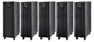 10 kVA / 10 kW Advanced Digital 3 Phase Battery Backup Uninterruptible Power Supply (UPS) And Power Conditioner With 4 External Battery Packs