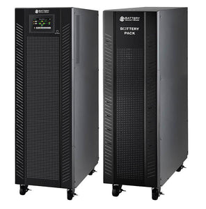 10 kVA / 10 kW Advanced Digital 3 Phase Battery Backup Uninterruptible Power Supply (UPS) And Power Conditioner With 1 External Battery Pack