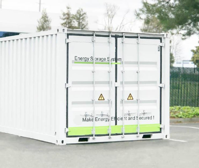 1,144 kWH Industrial Battery Backup And Energy Storage Systems (ESS) (277/480 Three Phase)