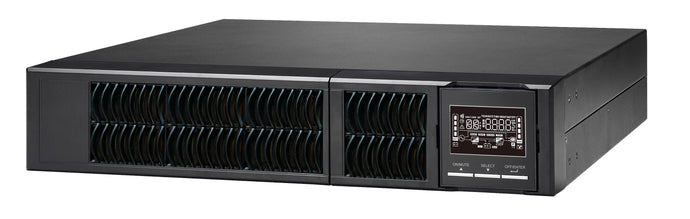 3 kVA / 2,700 Watt UL Listed LiFePO4 Convertible Rack Mount/Slim Tower Power Conditioner, Voltage Regulator, & Battery Backup UPS