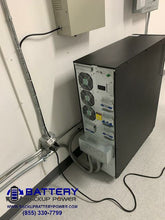 Load image into Gallery viewer, Battery Backup Power 10KVA 15KVA 20KVA 120/208Y 3 Phase UPS Back Of UPS Connections Hardwire