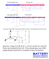 Battery Backup Power, Inc. Wiring Diagram