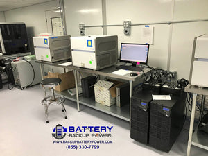 Battery Backup Power 6KVA 10KVA Plug And Play UPS For Lab Computer Server Equipment Protecting Roche Thermo Agilent PCR DNA Analyzer Illumina