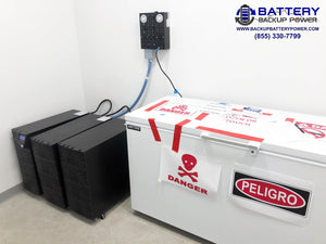 Battery Backup Power 6KVA 10KVA Plug And Play UPS For Lab Computer Server Equipment Protecting COVID 19 Vaccine ULT Freezer Refrigerator -80 -20 -30