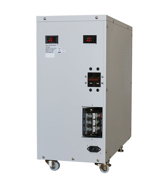 External Battery Pack With Built In Charger For 6 Kva To