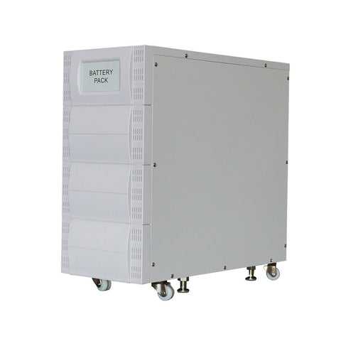 External Battery Pack With Built In Charger For 6 KVA To 20 KVA Systems