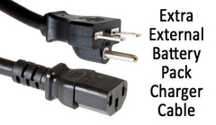 Extra External Battery Pack Charger Cable
