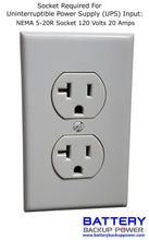 Load image into Gallery viewer, Non-Standard Socket - NEMA 5-20R Socket 120 Volts 20 Amps