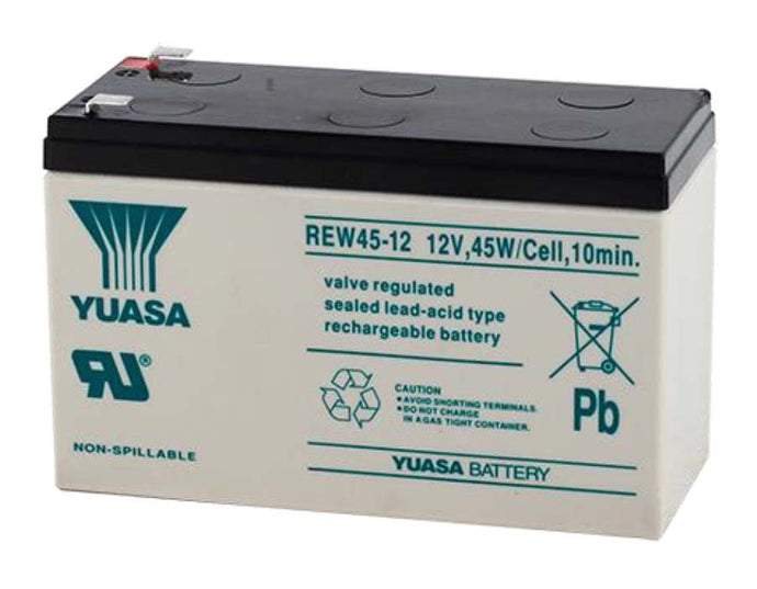 Yuasa REW45-12 Battery - 12 Volts 9 Amp Hours