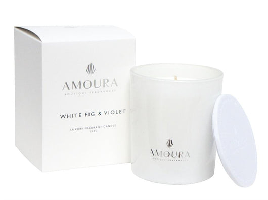 WHITE FIG & VIOLET CANDLE - 320G  (LARGE)
