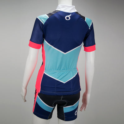 Female Cycling Jersey Back Mannequin Boulevard