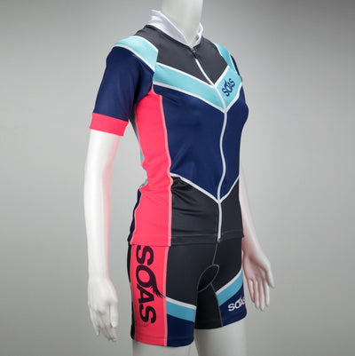 Female Cycling Jersey Front Mannequin Boulevard