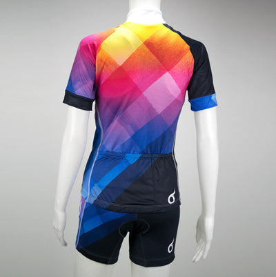 Female Cycling Jersey Uptown Back Mannequin