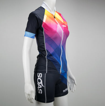 Female Cycling Jersey Uptown Front Mannequin