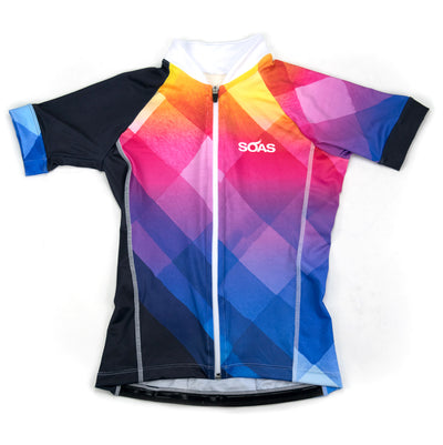 Female Cycling Jersey Uptown Front