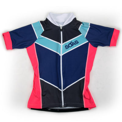 Female Cycling Jersey Front Boulevard