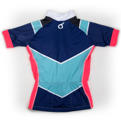 Female Cycling Jersey Back Boulevard