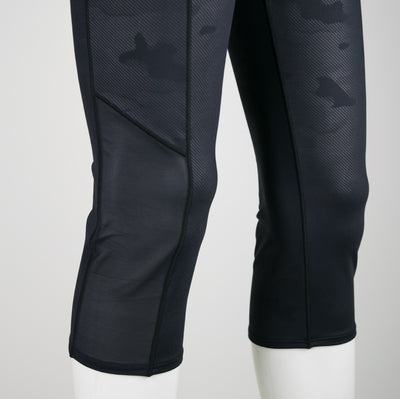 Black Camo Run Tights