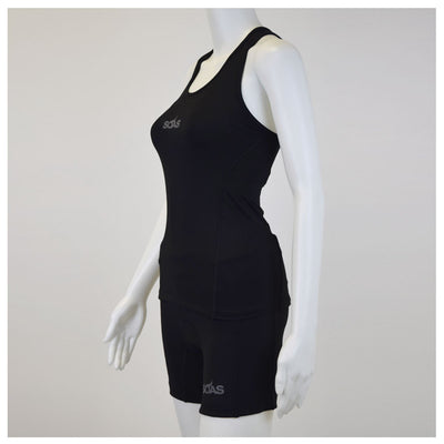 Female Tri Short Black Basic Side Mannequin