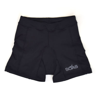 Female Tri Short Black Basic Front