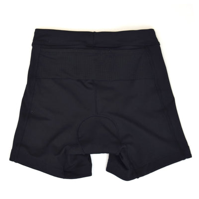 Female Tri Short Black Basic Back