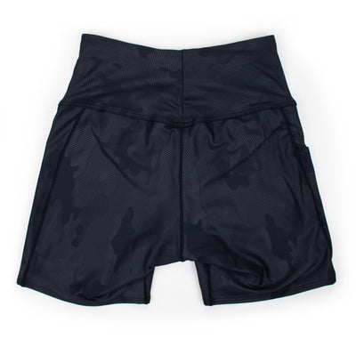 Black Camo Fleet Run Short