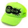 KONA Trucker Hat Pineapple Side