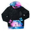 Kona Black Mesh Pullover Hoodie ***Ships Oct. 11th***