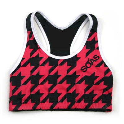 Houndstooth 2.0 Sports Bra JFU