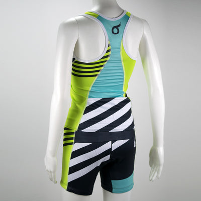 Female Triathlon Short Coronado Mannequin Back